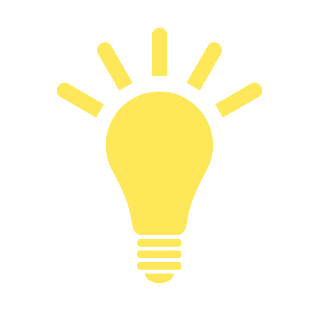 File:Light Bulb (yellow) Icon.svg image #820 - Light Bulb PNG
