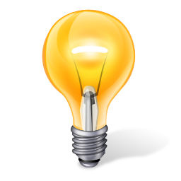 yellow light bulb PNG image - Light Bulb PNG HD
