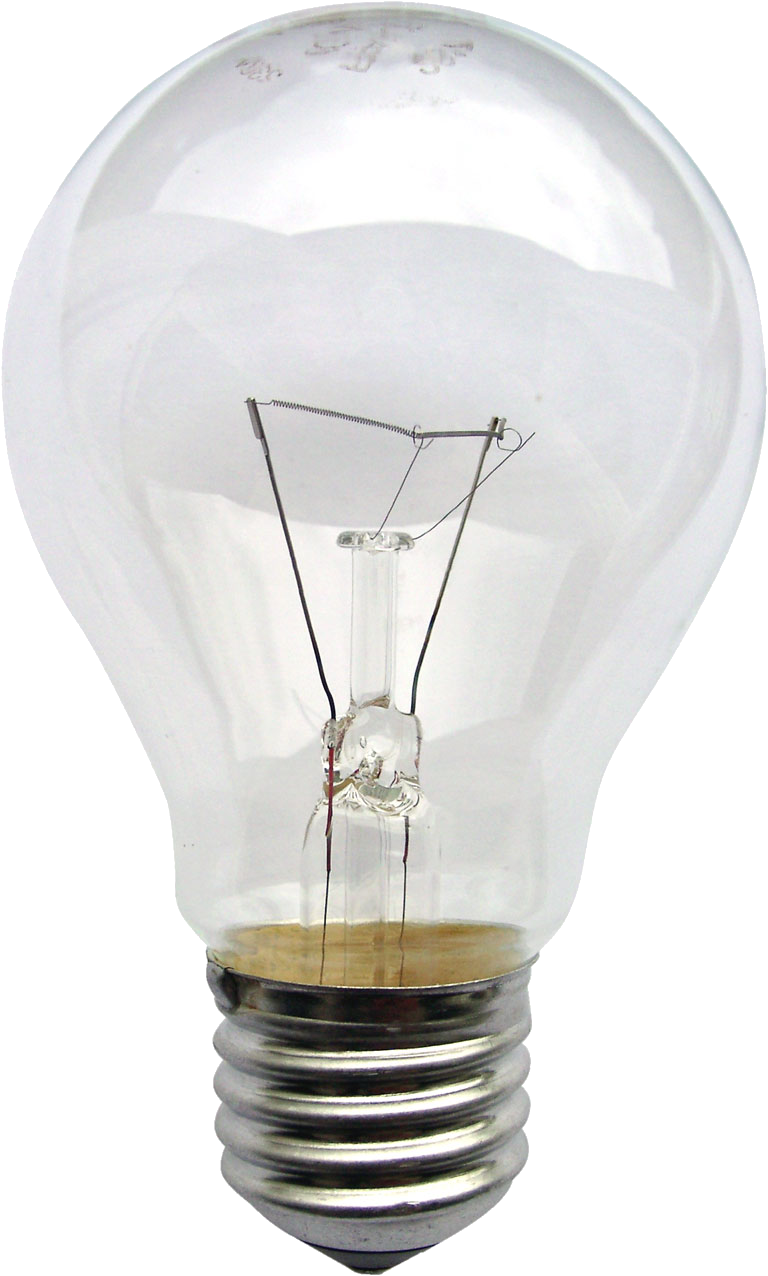 Incandescent Light Bulb Image #850 - Light Bulb PNG