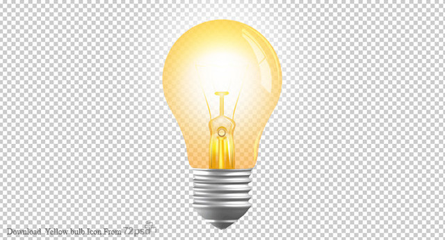Light Bulb Png Transparent Lightbulb Icon Transparent Background - Light Bulb PNG