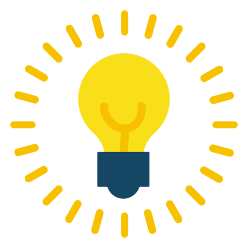 Lightbulb on - Light Bulb PNG