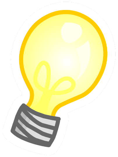 Lightbulb.png - Light Bulb PNG