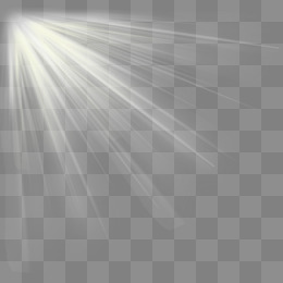 How to create sun light png k