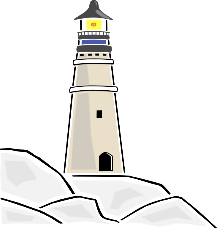Are you searching for an image of a lighthouse? Stop searching as we have  this nice lighthouse clip art that you can use on your book illustrations,  PlusPng.com  - Lighthouse PNG Public Domain