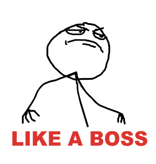 Like a Boss PNG - 23107