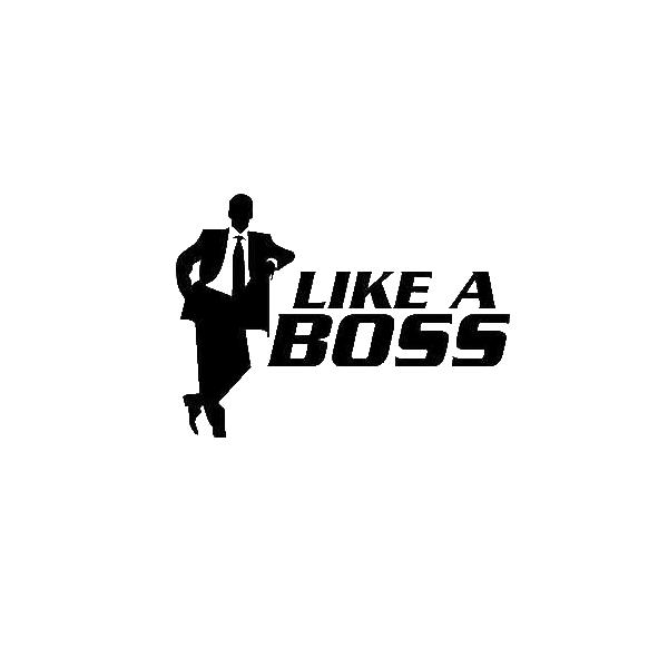 Like a Boss PNG - 23113