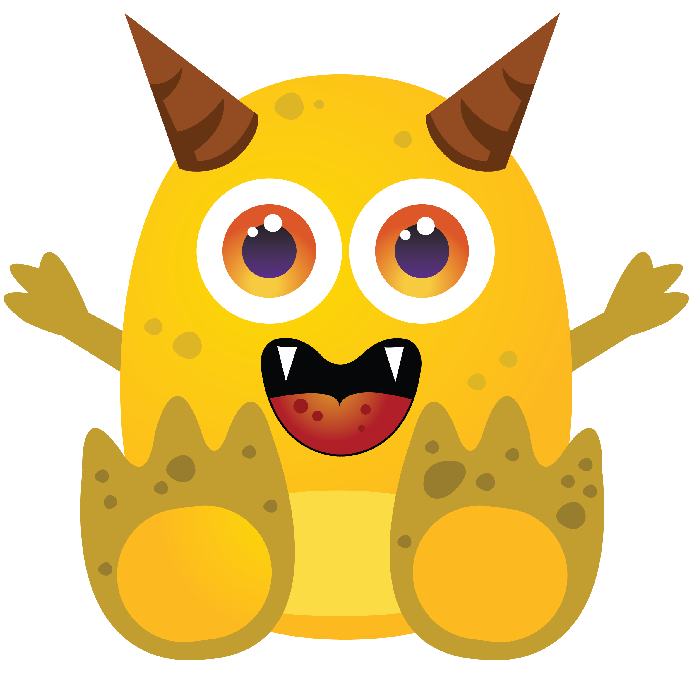 Lil Monster PNG-PlusPNG.com-2388 - Lil Monster PNG