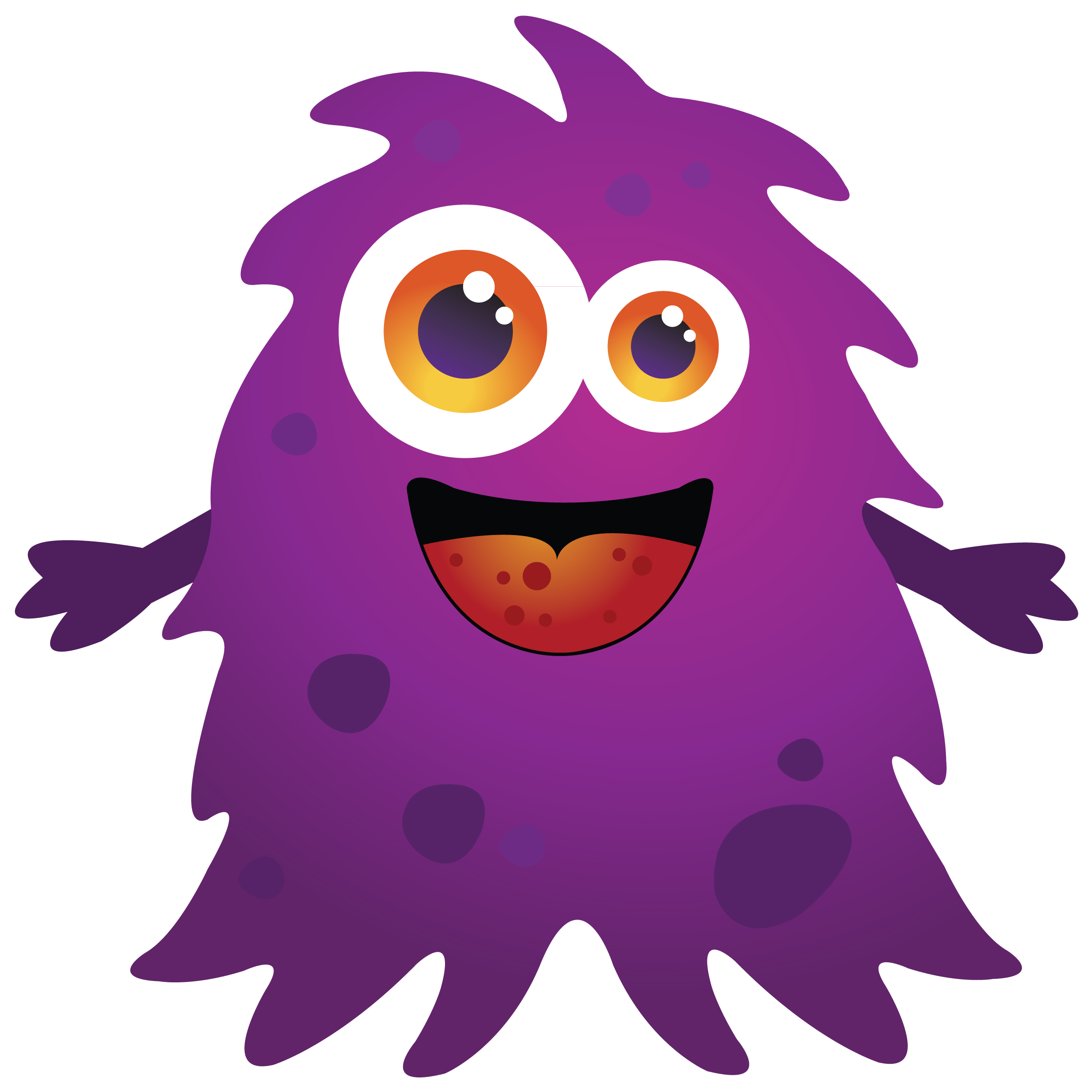 Lil Monster PNG-PlusPNG.com-2400 - Lil Monster PNG