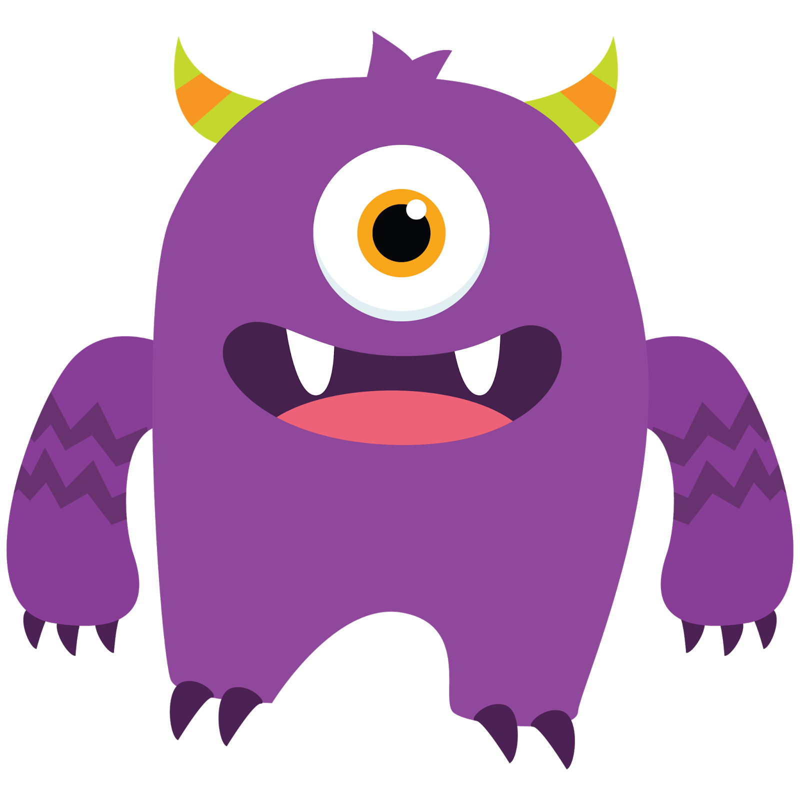 Cool monster clipart - Lil Monster PNG