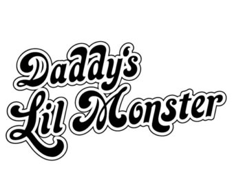 Daddyu0027s Lil Monster # 11 - 8 x 10 - T Shirt Iron On Transfer - Lil Monster PNG