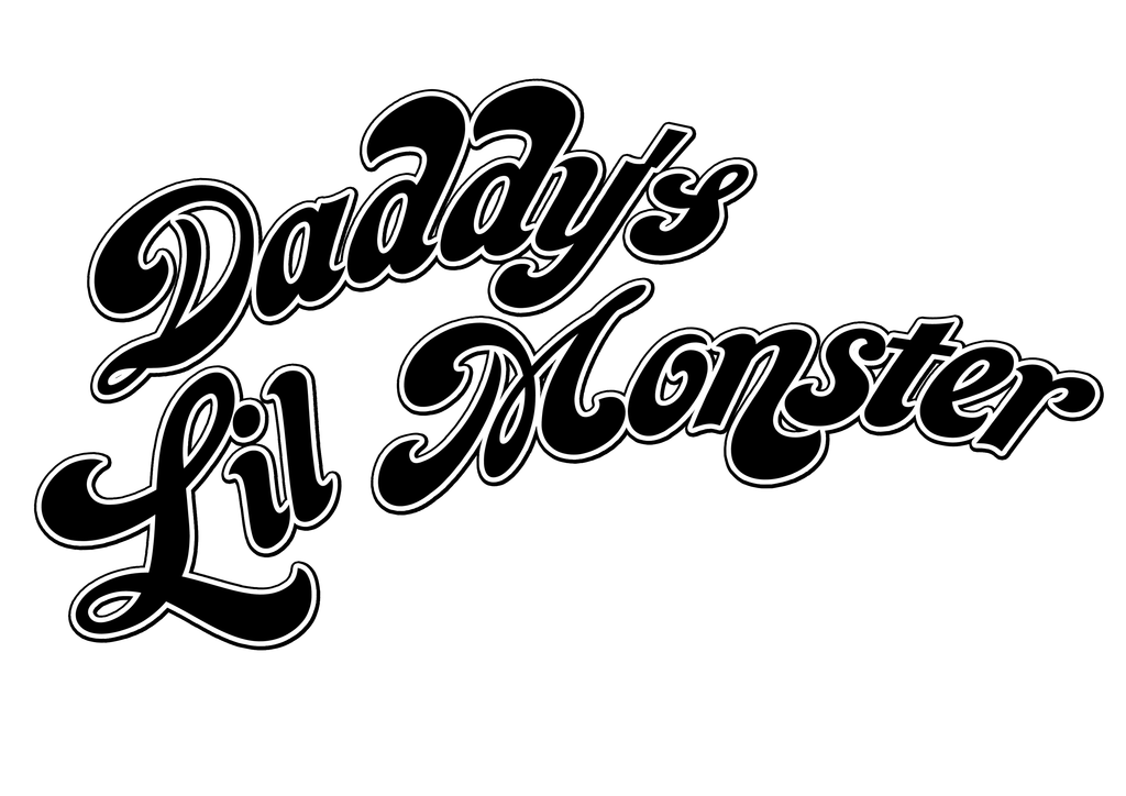 Daddyu0027s Lil Monster Graphic by Gothams-Clown-Queen PlusPng.com  - Lil Monster PNG