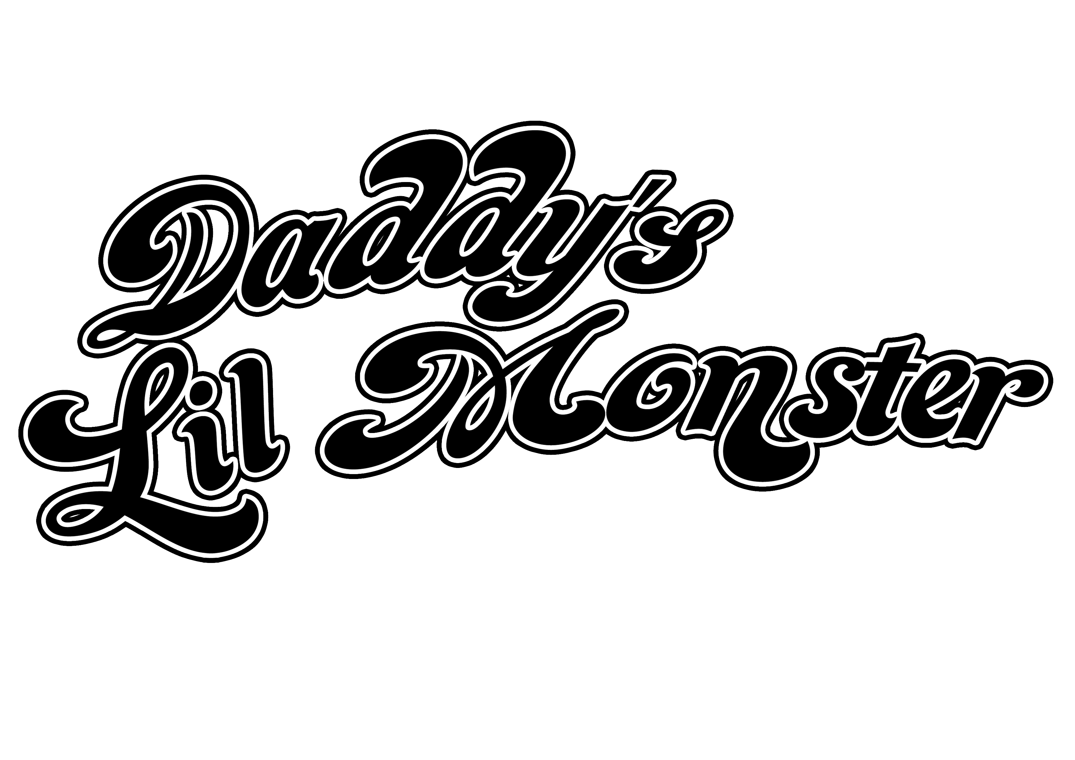 Daddyu0027s Lil Monster.png; 3508 x 2480 PlusPng.com  - Lil Monster PNG