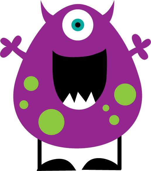 Little monster clipart 2 - WikiClipArt - Lil Monster PNG