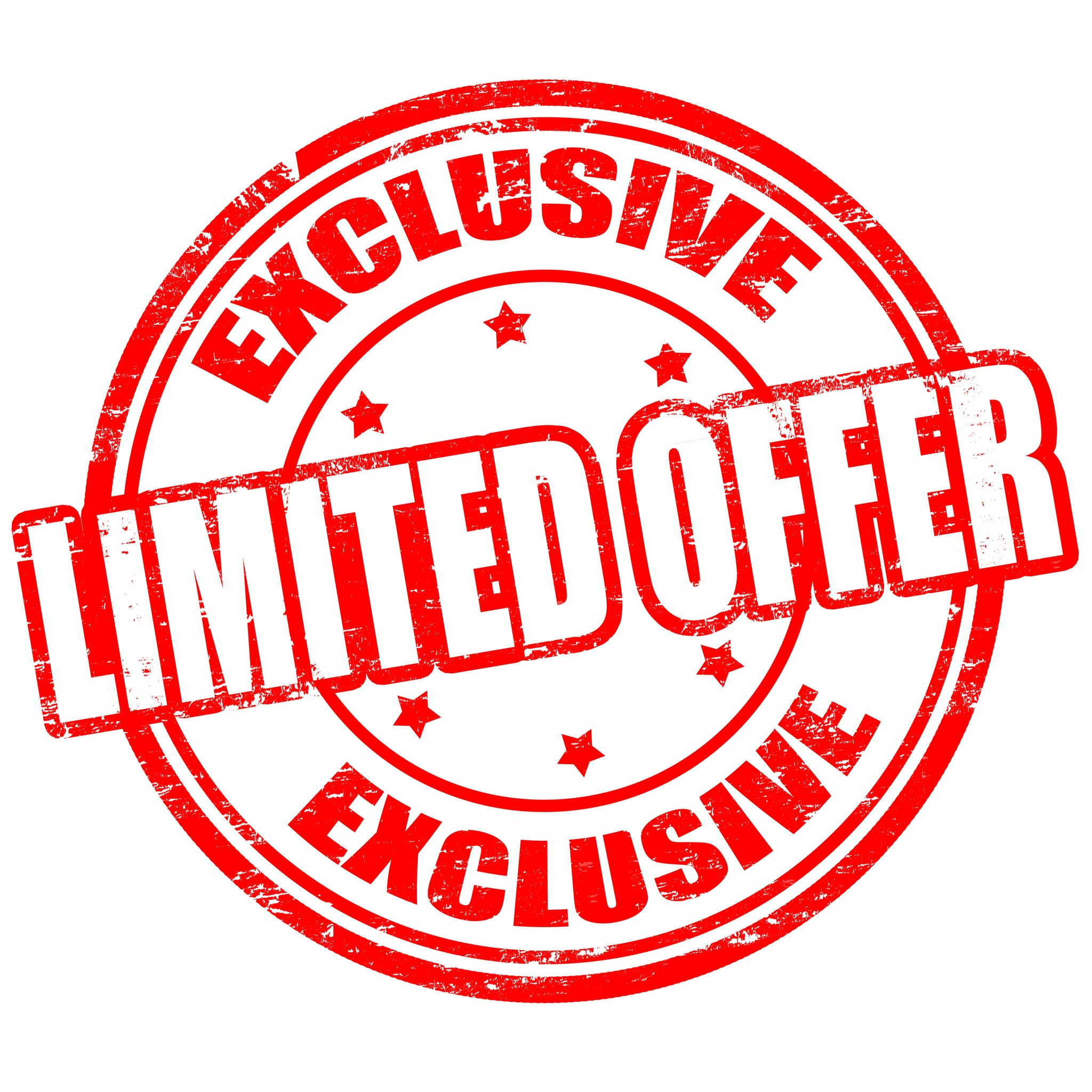 Limited Offer Stamp - Limited Offer PNG