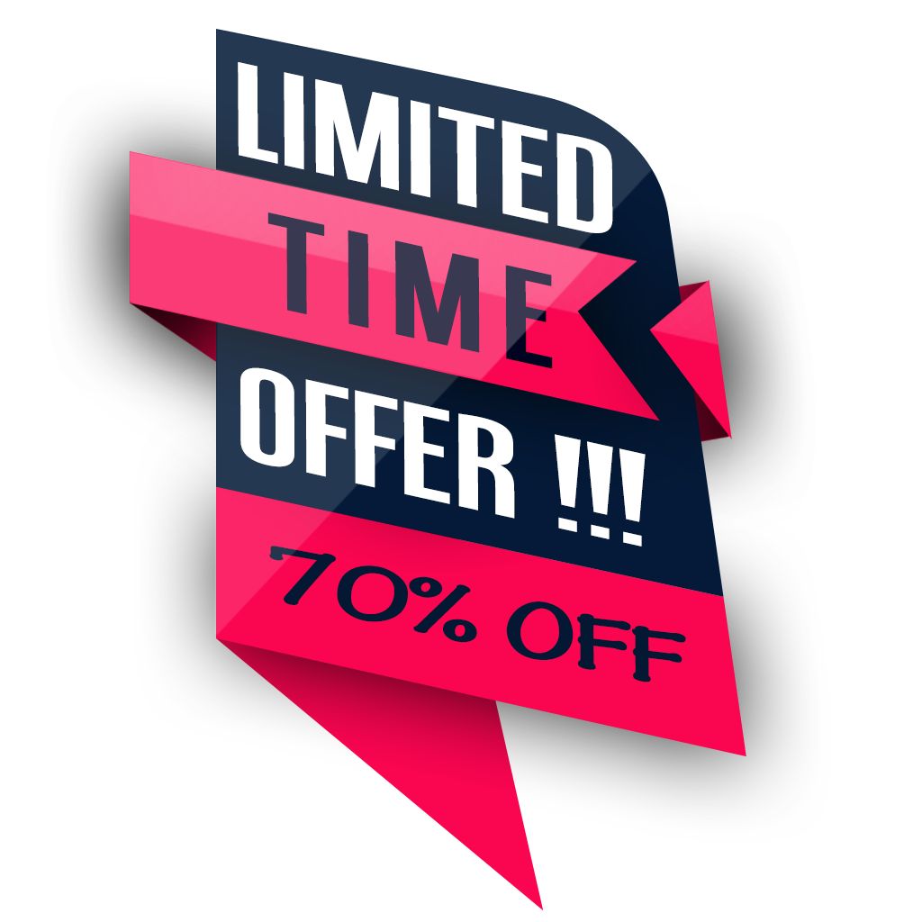 Stylish Limited Time Offer High Quality PNG Image - Limited Offer PNG