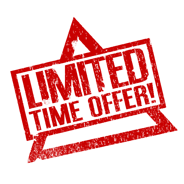 This is a illumanity Style Limited Time Offer PNG Image with alpha  (transparent background) - Limited Offer PNG