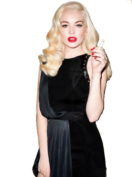Lindsay Lohan PNG by maarcopngs PlusPng.com  - Lindsay Lohan PNG