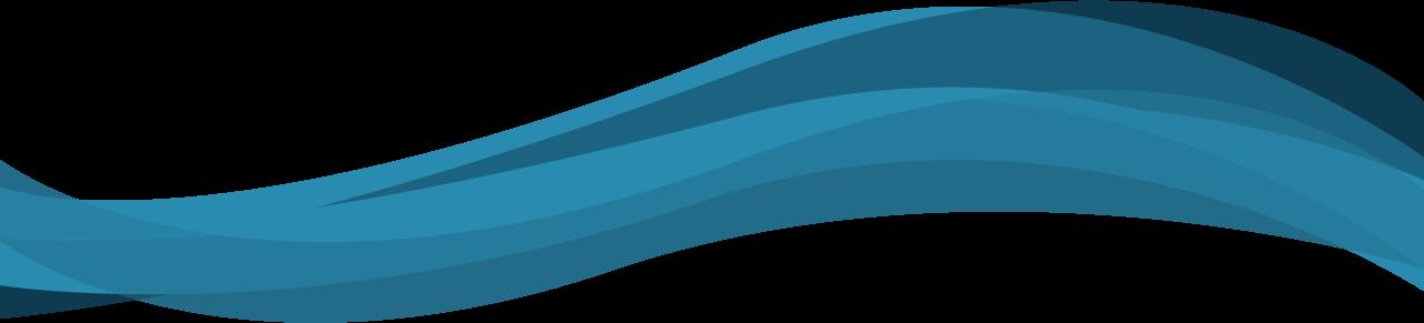Decorative Line Blue PNG - 1108