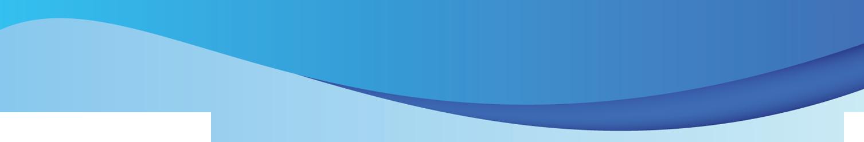 Decorative Line Blue PNG - 1101