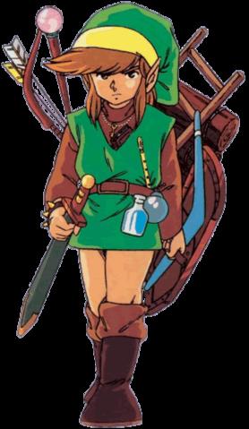 File:Items (The Legend of Zelda).png - Link Zelda PNG