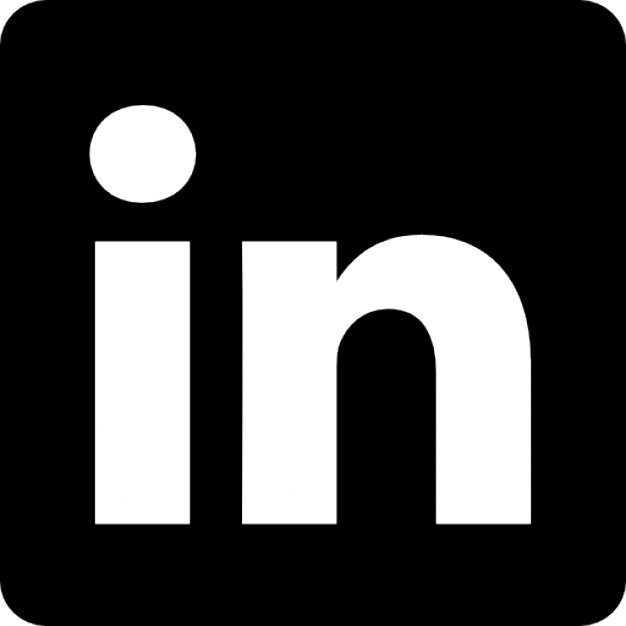 Linkedin Icon Vector PNG - 97155