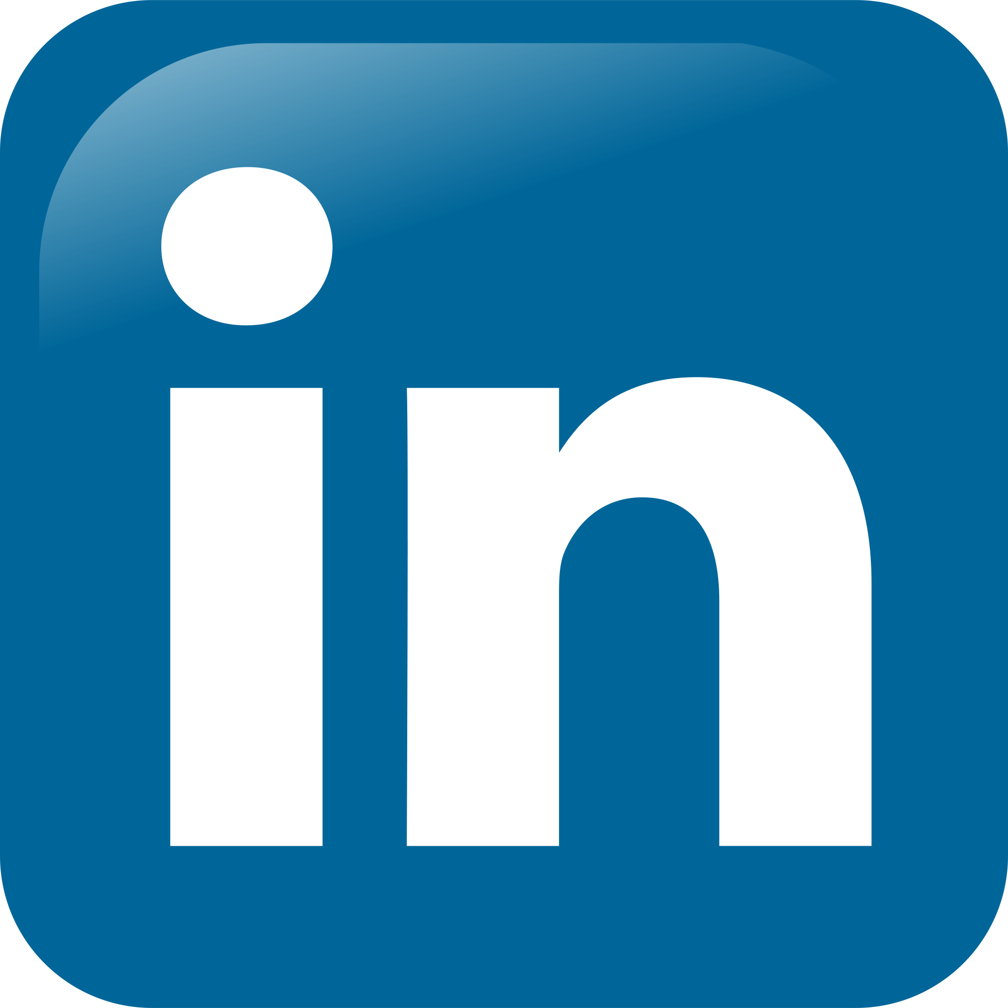 Linkedin Icon Vector PNG - 97161