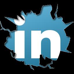 256x256 px Linkedin Logo Png Download - Linkedin PNG
