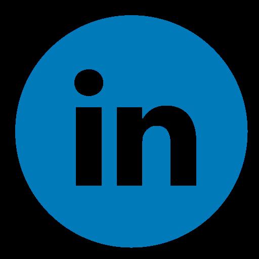 circle, color, linkedin icon - Linkedin PNG