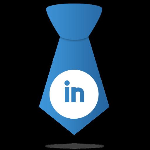 LinkedIn Necktie Icon