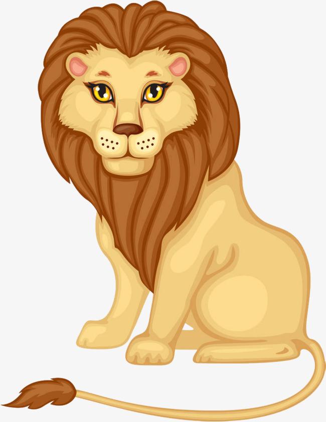 Le lion assis sur le sol Gratuit PNG et Clipart - Lion Assis PNG