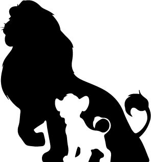 25  best ideas about Lion clipart - Lion King PNG Black And White