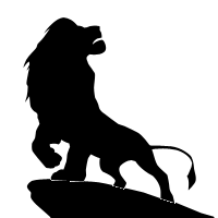 The Lion King Sound Effects - Lion King PNG Black And White