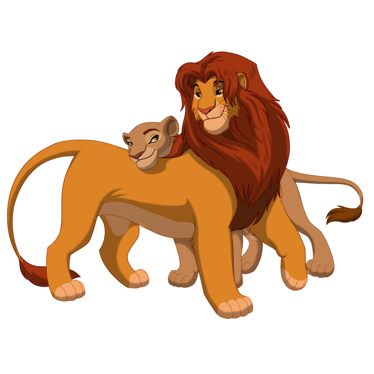 Lion king fathers and mothers
