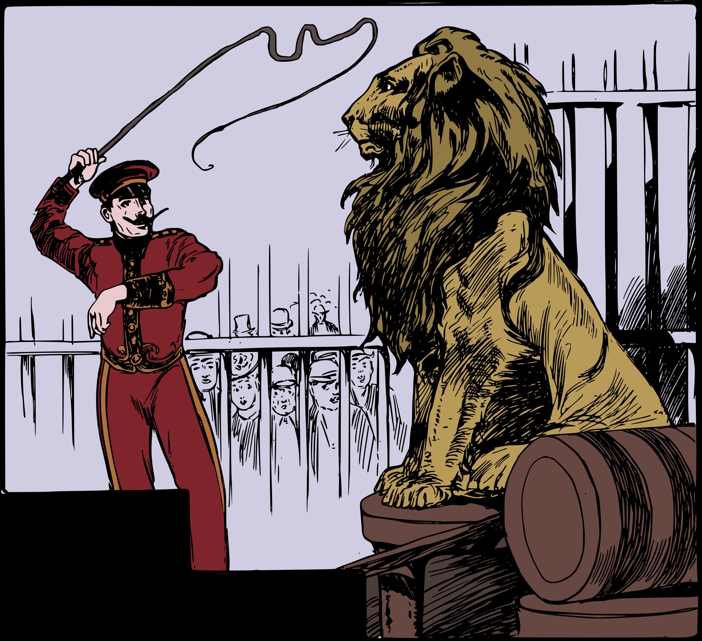BIG IMAGE (PNG) - Lion Tamer PNG