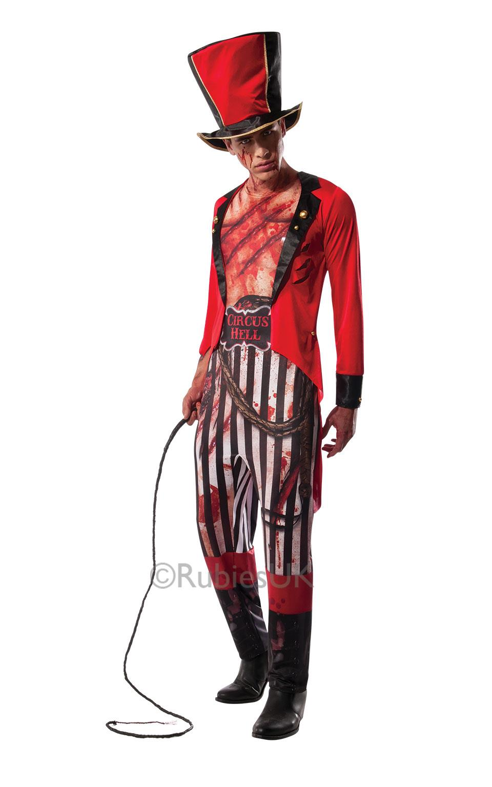 Circus Hell Lion Tamer Costume PlusPng.com  - Lion Tamer PNG