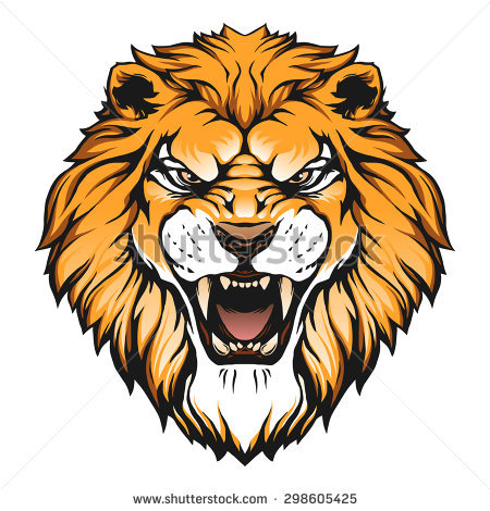 Lion head illustration - Lions Head HD PNG