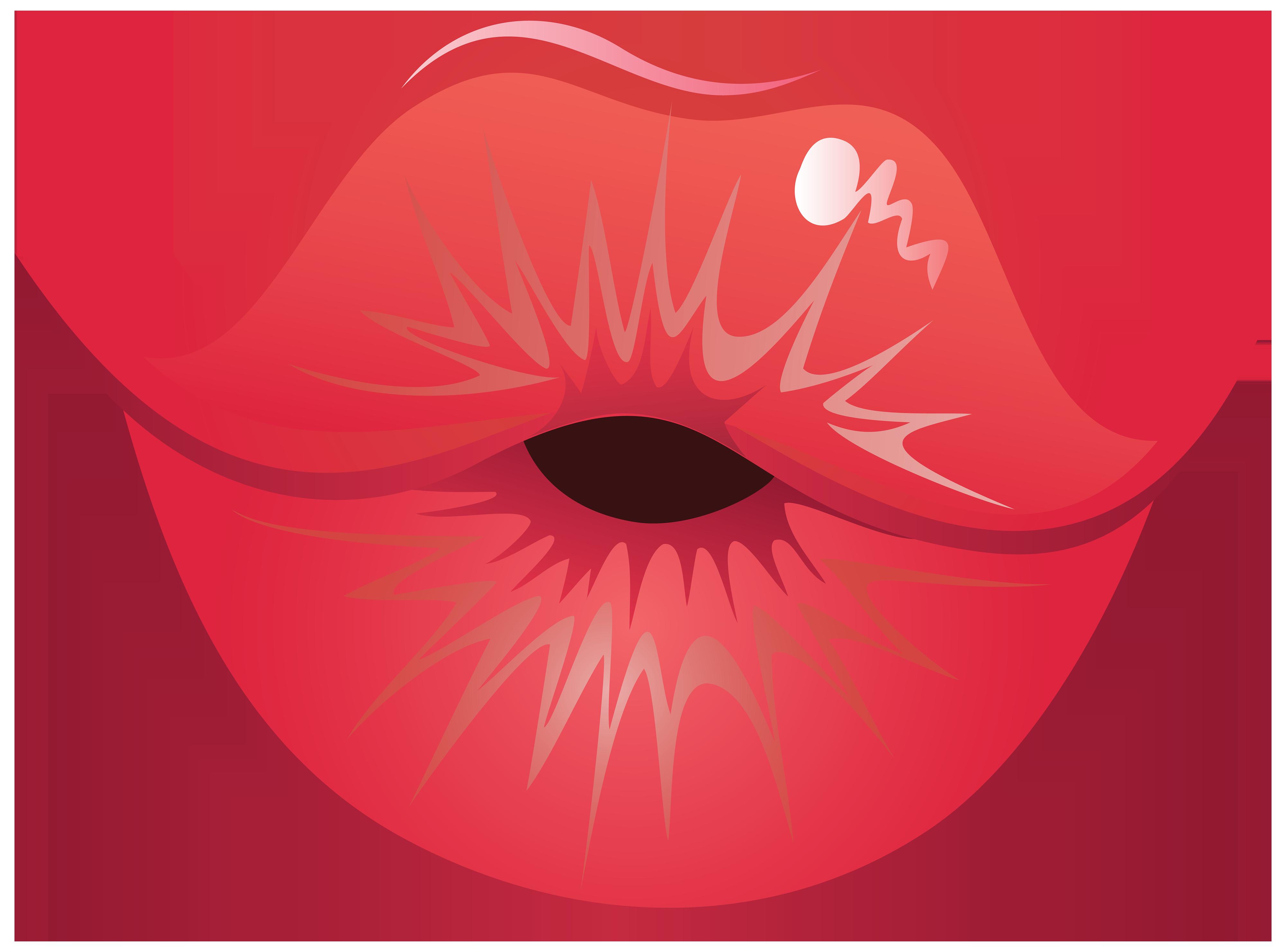 pin Lips clipart kissy lip #4 - Lips HD PNG