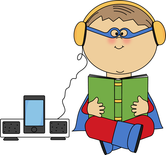 Kids Listening Clipart | Clipart library - Free Clipart Images - Listen To Reading Ipad PNG