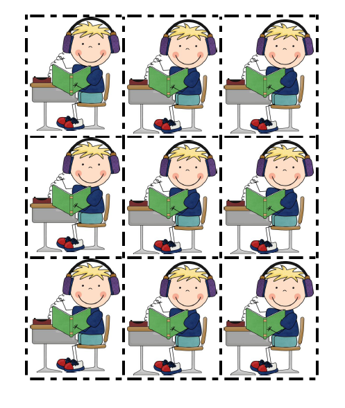 Listen To Reading Clipart 12 - Listen To Reading Ipad PNG