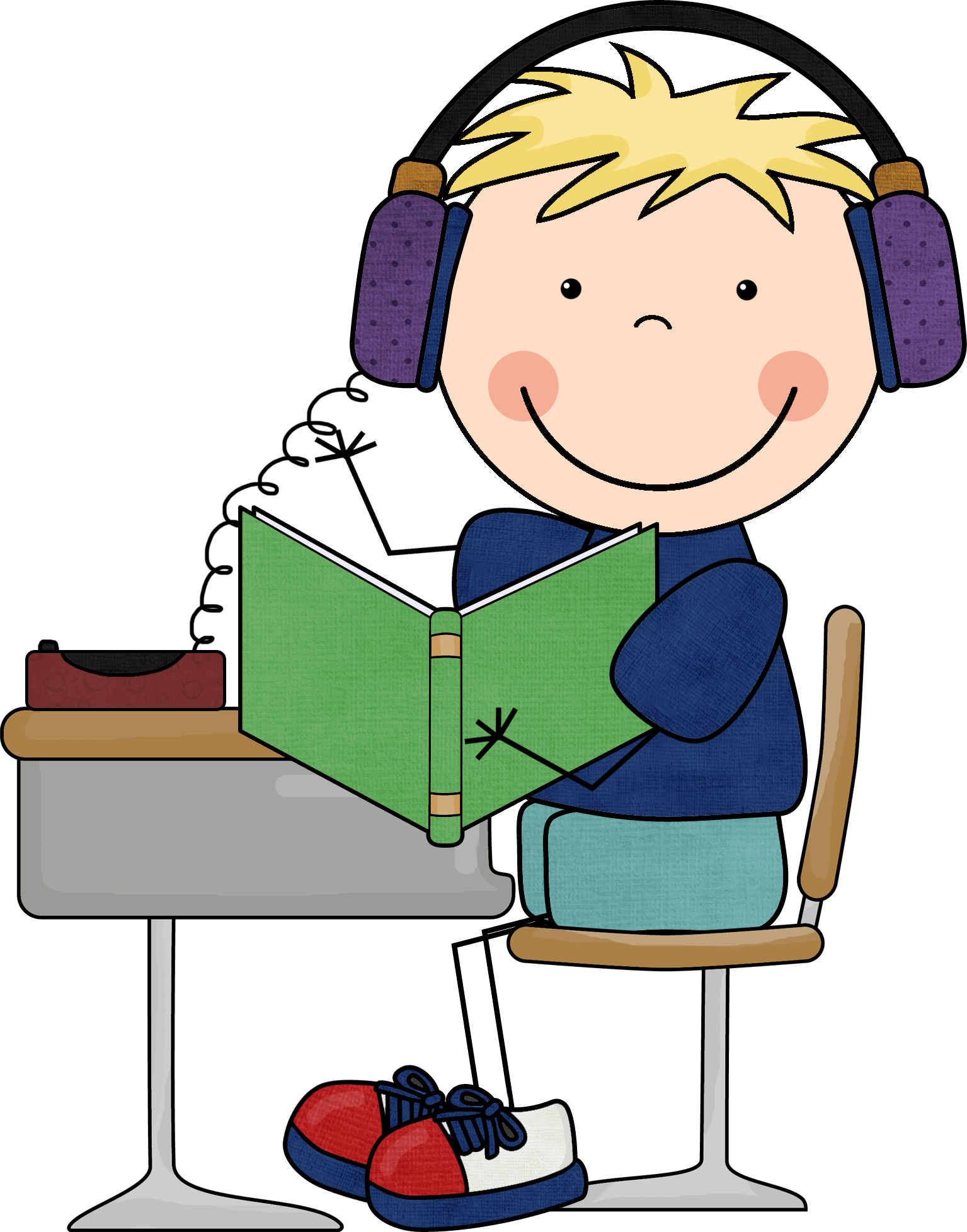 To Reading Clipart