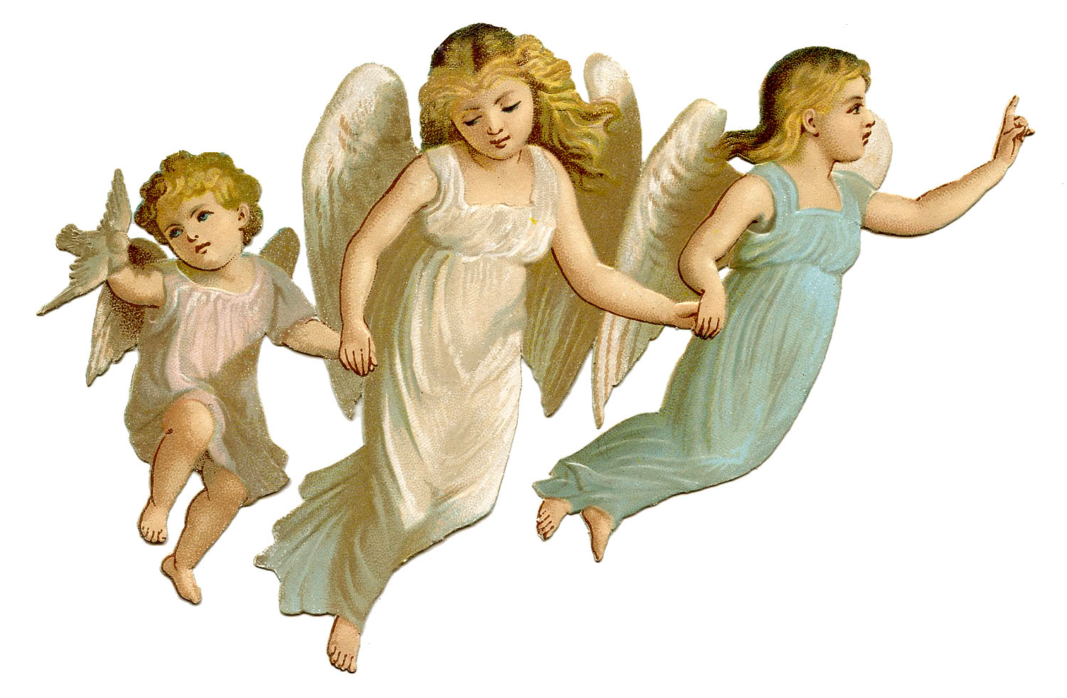 3 Baby Angels Picture - HD Wallpapers - Little Angel PNG HD
