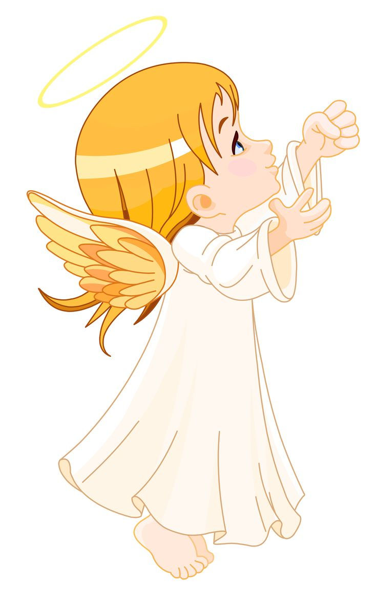 cute little angels clipart - Little Angel PNG HD