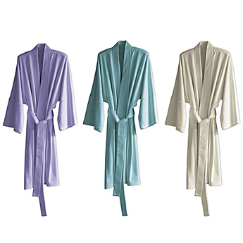 image of Under the Canopy® Organic Cotton Kimono Robe - Little Girl Big Robe PNG