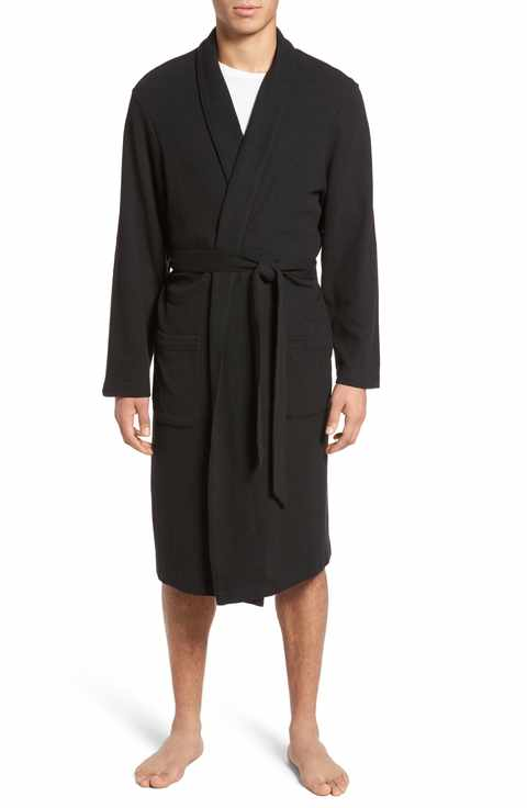 Nordstrom Menu0027s Shop Thermal Robe - Little Girl Big Robe PNG