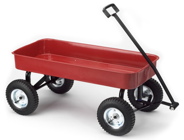 A red wagon - Little Red Wagon PNG