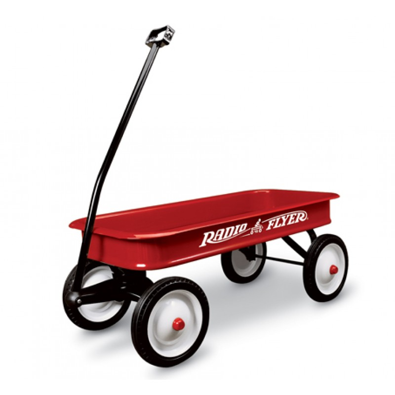 classic-red-wagon-model-18 - Little Red Wagon PNG