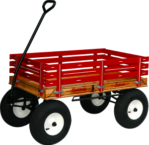 Little Red Wagon PNG - 54009