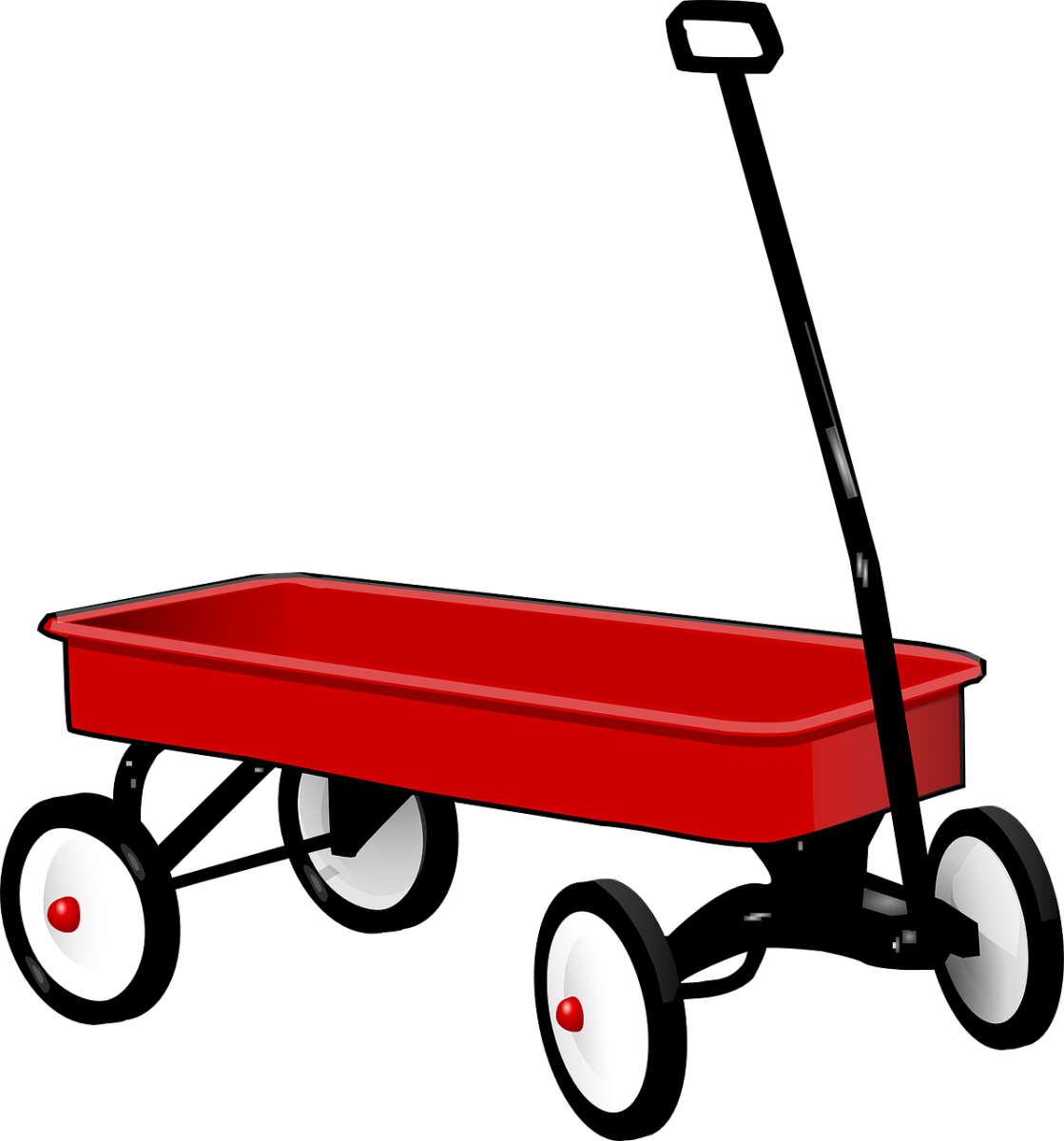 Little Red Wagon PNG - 54011