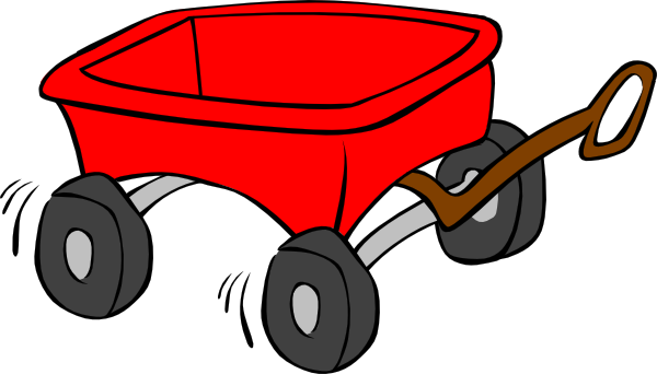 PNG: small · medium · large - Little Red Wagon PNG