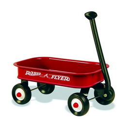 Little Red Wagon PNG